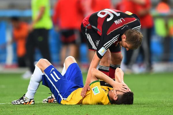 Gol de Oscar vs Alemania Mundial 2014