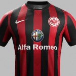 Nueva camiseta Eintracht Frankfurt 2014/2015 local