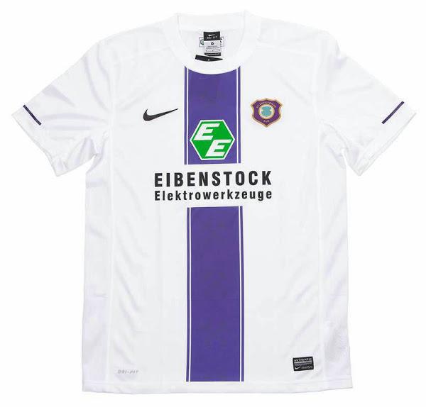 Nueva camiseta Erzgebirge Aue 2014/15 visitante