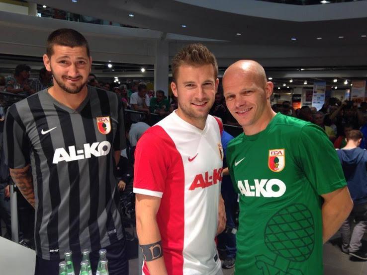 Nueva camiseta FC Augsburg 2014/15
