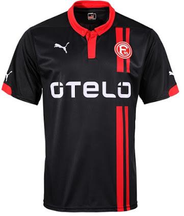 Nueva camiseta Fortuna Düsseldorf 2014/15 visitante