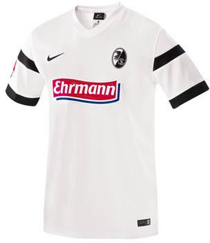 Nueva camiseta SC Freiburg 2014/2015 visitante