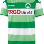 Nueva camiseta Greuther Fürth 2014/15
