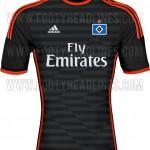 Nueva camiseta Hamburgo 2014/2015 visitante