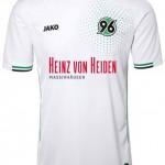 Nueva camiseta Hannover 2014/2015 visitante