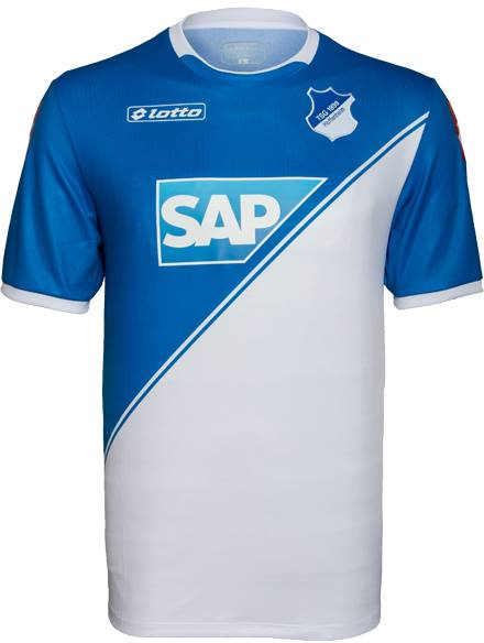 Nueva camiseta Hoffenheim 2014/2015 local