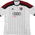 Nueva camiseta Ingolstadt 2014/15 visitante