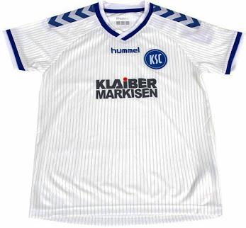 Nueva camiseta Karlsruhe 2014/15