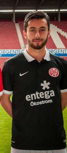 Tercera camiseta Mainz 05 2014/2015