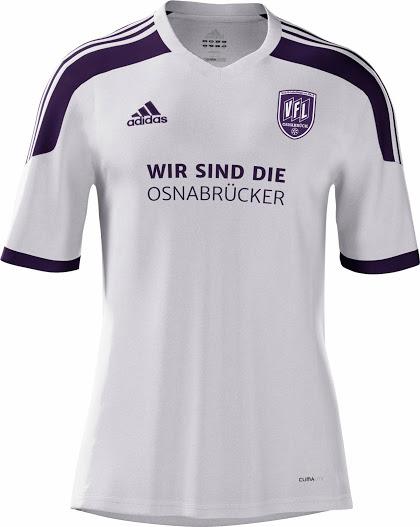 Nueva camiseta Osnabrück 2014/15 visitante