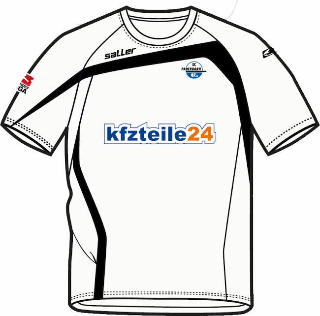 Tercera camiseta Paderborn 2014/2015