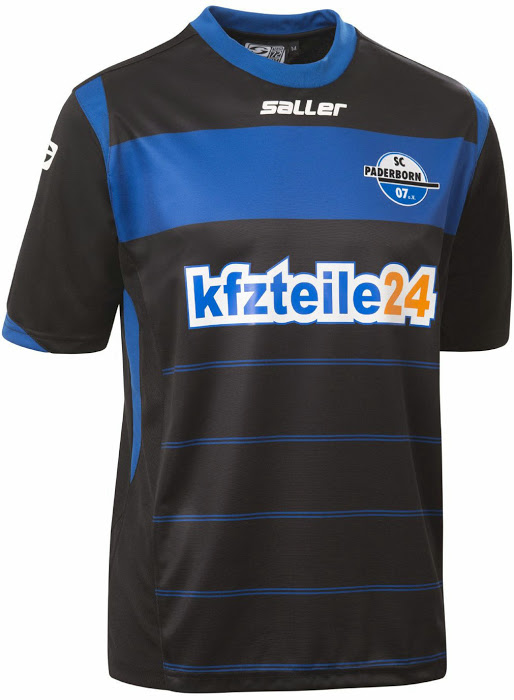 Nueva camiseta Paderborn 2014/2015 local