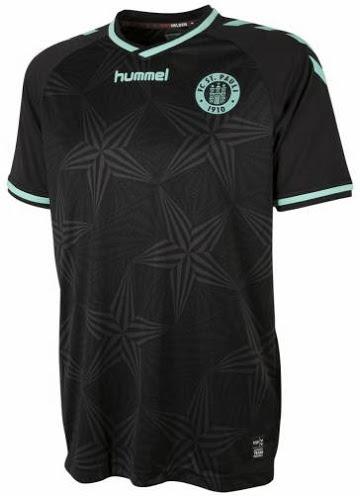 Tercera camiseta St Pauli 2014/15