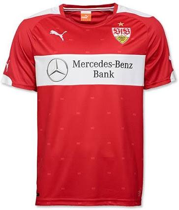 Nueva camiseta Stuttgart 2014/2015 visitante