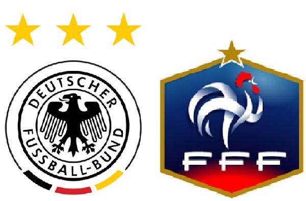 A qué hora juega Francia vs Alemania