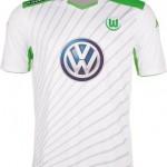 Nueva camiseta Wolfsburg 2014/2015 visitante