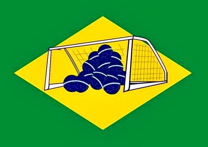 Meme bandera Brasil