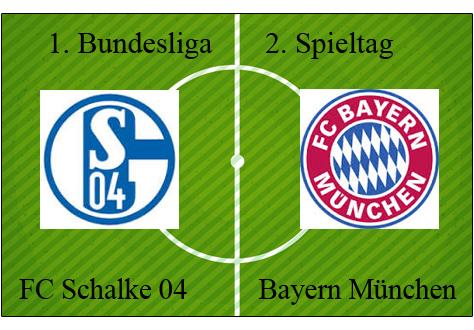 Alineaciones Schalke vs Bayern