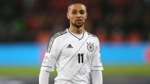 Sidney Sam en su última convocatoria con la selección alemana.