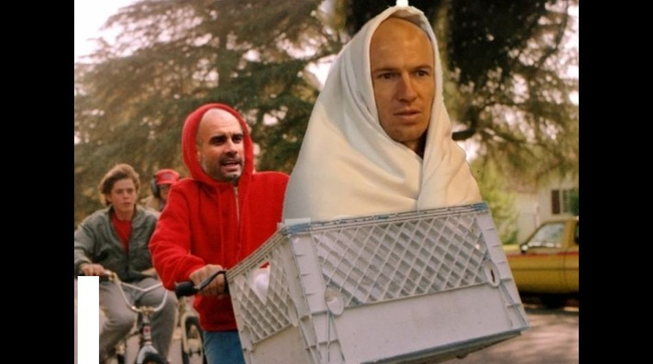 Robben ET Guardiola