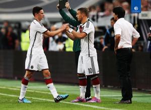 Draxler tuvo que ser sustituido en el minuto 33 del amistoso entre Alemania y Argentina.