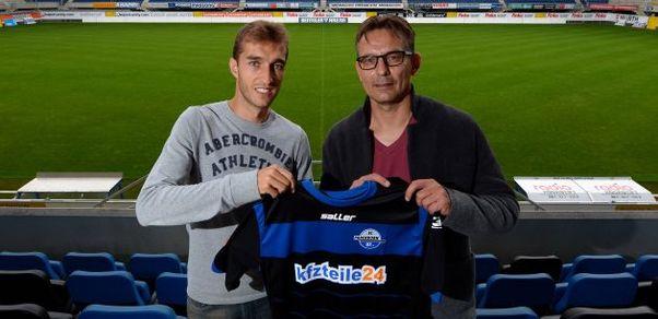 Rafa llega al recién ascendido Paderborn para ayudar en el sueño de la permanencia. Foto:  scpaderbon07.de