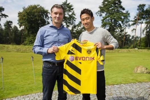 La vuelta de Kagawa al Dortmund será uno de los alicientes de la presente temporada. Foto: bvb.de