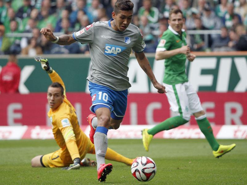 Ante el Werder Bremen llegó el único gol hasta el momento del brasileño en lo que llevamos de campeonato. Foto: Alliance Pictures.