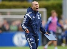 Primer entrenamiento de Di Matteo con el Schalke 04