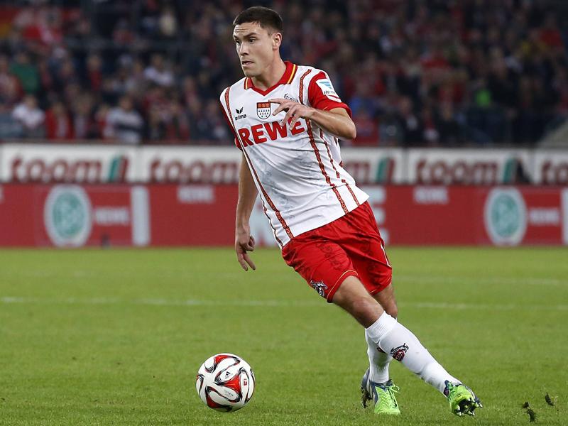El lateral del Colonia, Jonas Hector tendrá la oportunidad de debutar con la selección alemana. Foto: dpa.