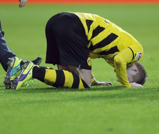 Marco Reus lesión tobillo