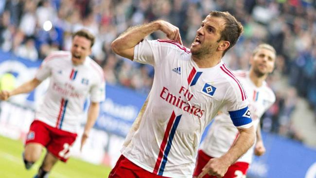 Van der Vaart es el 'goleador' del equipo con 3 tantos. foto: www.bundesliga.de