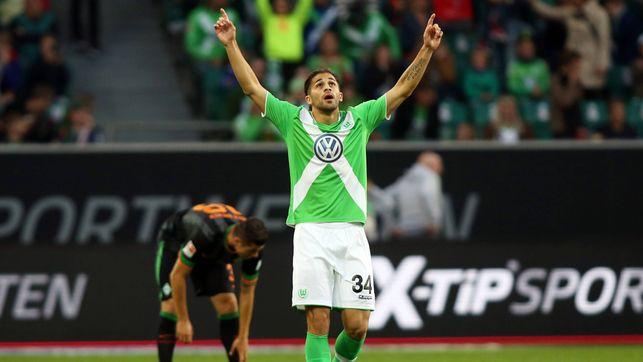 Rodríguez llegó al VfL en 2011 a cambio de 7,5 millones de Euros. Foto: www.vfl-wolfsburg.de