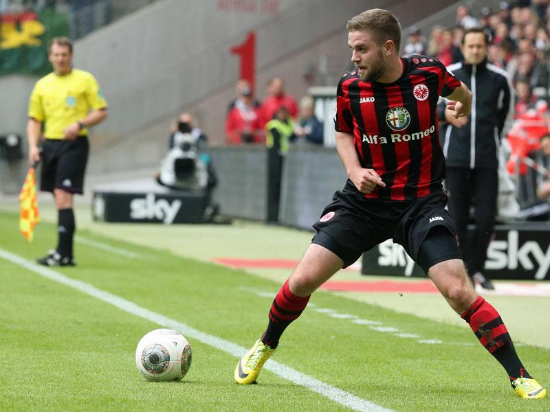 Stendera debutó hace dos años en Eintracht. Foto: kicker.de//imago