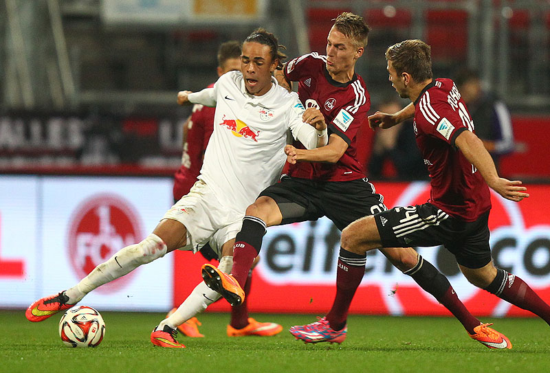Borussia Dortmund Yussuf Poulsen RB Leipzig