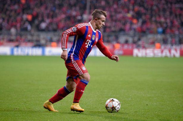 Shaqiri solo jugó 540 minutos con el Bayern esta temporada. Foto: mirror.co.uk // Adam Pretty
