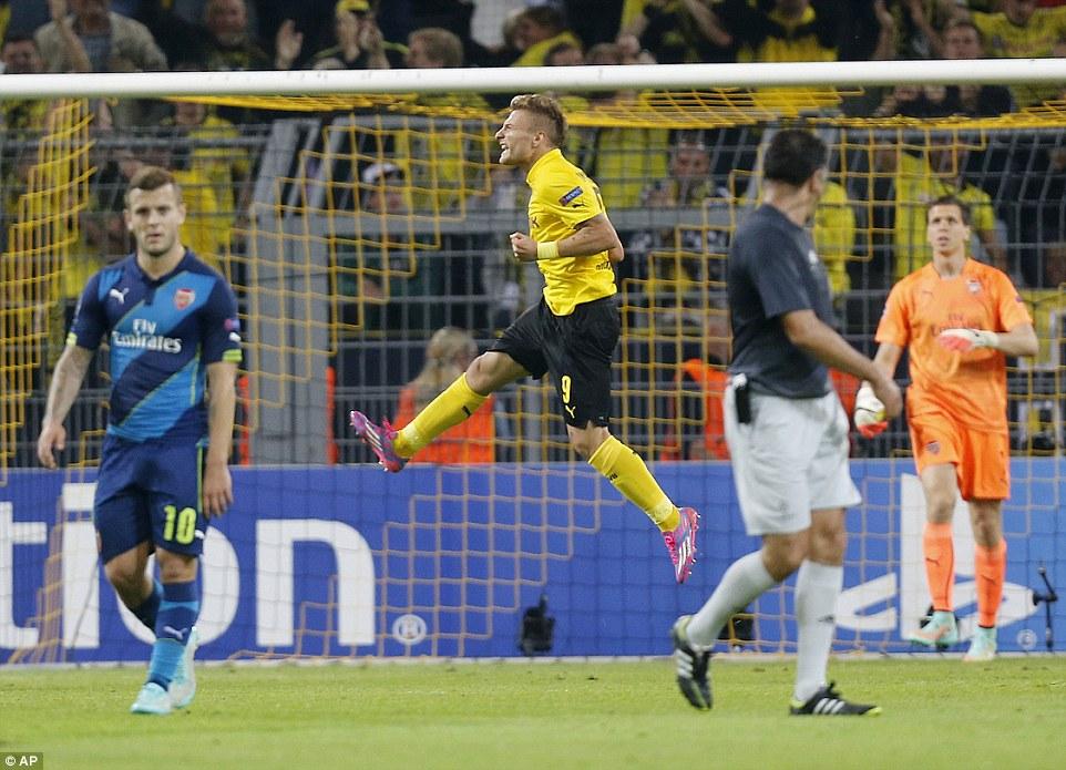 Borussia Dortmund entrevista Ciro Immobile