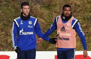 Schalke 04 Boateng Nastasic Papadopoulos