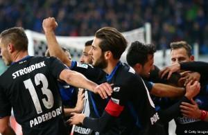 Paderborn necesitará ganar y algo de suerte para salvarse (Copyright: Getty Images/M. Rose)