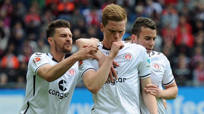 St. Pauli debe seguir con la buena racha si quiere seguir en 2. Bundesliga un año más. Foto: sportschau.de