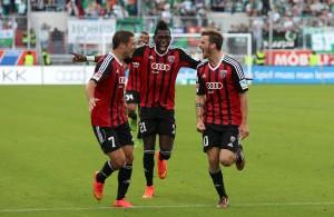 El equipo celebra una de las tantas victorias. Foto: www.fcingolstadt.de