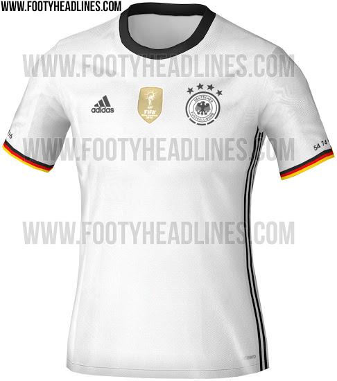 Una ilustración de cómo será la nueva camiseta. Foto vía footyheadlines.com
