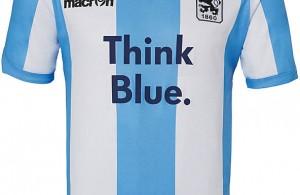 Nuevo uniforme local del 1860 München. Fuente: footyheadlines.com