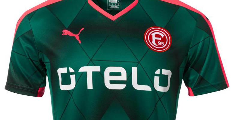 Nuevas camisetas Fortuna Düsseldorf 2015/16