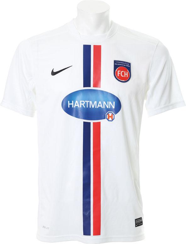 Nuevacamiseta local del FC Heidenheim de la 2. Bundesliga. Fuente: nurfussball.com