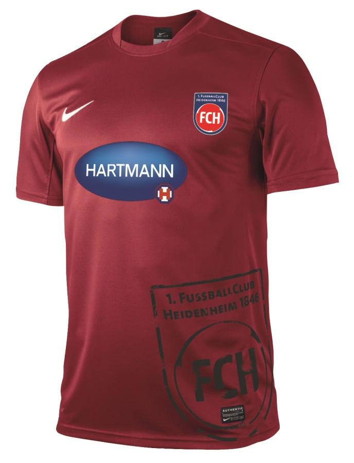 Nueva camiseta visitante del FC Heidenheim. Fuente: Tienda online oficial del equipo