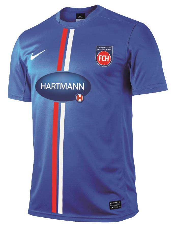 Nueva tercera equipación del FC Heidenheim. Fuente: Tienda