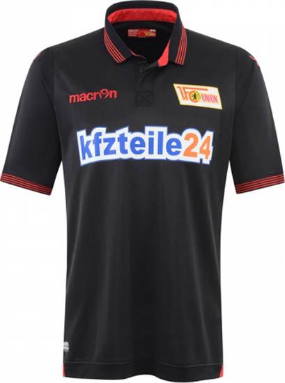Nuevo uniforme de visitante del 1. FC Union Berlin. Fuente: footyheadlines.com