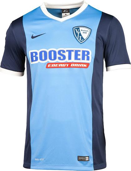 camiseta bochum 2015-2016 local