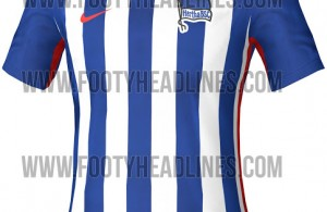 camiseta hertha 2015 2016 local